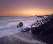 Tim Fitzharris - Sunset at San Simeon State Park Big Sur, California