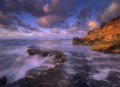 Tim Fitzharris - Surf crashing on rocks at Keoneloa Bay, Maui, Hawaii
