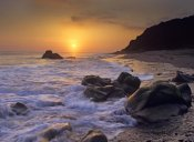 Tim Fitzharris - Sunset over Leo Carillo State Beach, Malibu, California