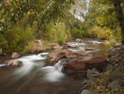 Tim Fitzharris - Oak Creek in Slide Rock State Park near Sedona, Arizona
