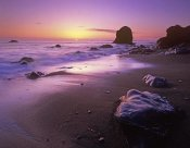 Tim Fitzharris - Enderts Beach at sunset, Redwood National Park, California