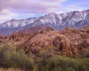 Tim Fitzharris - Sierra Nevada Mountains from the Alabama Hills, California