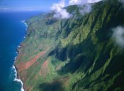 Tim Fitzharris - Rugged cliffs along Na Pali Coast State Park, Kauai, Hawaii