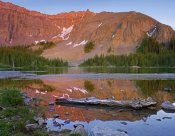 Tim Fitzharris - Palmyra Peak reflected in Alta Lake near Telluride, Colorado