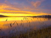 Tim Fitzharris - Sunrise at San Luis Reservoir, San Joaquin Valley, California