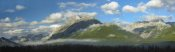 Tim Fitzharris - Panoramic view of Mt Kidd, Kananaskis Country, Alberta, Canada