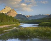 Tim Fitzharris - Mount Wilbur at Fishercap Lake, Glacier National Park, Montana