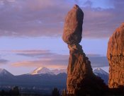 Tim Fitzharris - La Sal Mountains and Balanced Rock, Arches National Park, Utah
