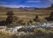 Tim Fitzharris - River flowing though meadow, Yellowstone National Park, Wyoming