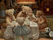 Janet Kruskamp - Teddy Bear Tea Party