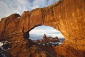 Tim Fitzharris - Turret arch through north window arch, Arches National Park, Utah