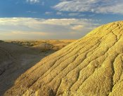 Tim Fitzharris - Detail of erosional feature, Badlands National Park, South Dakota