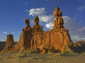 Tim Fitzharris - Eroded sandstone, The Three Judges, Goblin Valley State Park, Utah