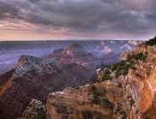 Tim Fitzharris - Stormy skies over Vishnu Temple, Grand Canyon National Park, Arizona