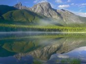 Tim Fitzharris - The Wedge overlooking Wedge Pond, Kananaskis Country, Alberta, Canada