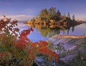 Tim Fitzharris - Island in Georgian Bay, Lake Huron, Killarney Provincial Park, Ontario