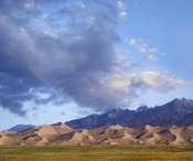Tim Fitzharris - Sand dunes and mountains, Great Sand Dunes National Monument, Colorado