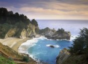 Tim Fitzharris - McWay Cove and McWay Falls, Julia Pfieffer-Burns State Park, California