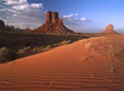 Tim Fitzharris - Sand dunes and the Mittens, Monument Valley Navajo Tribal Park, Arizona