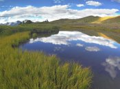 Tim Fitzharris - Clouds reflected in water at Cottonwood Pass, Rocky Mountains, Colorado