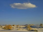 Tim Fitzharris - Cloud over White Sands National Monument, Chihuahuan Desert, New Mexico