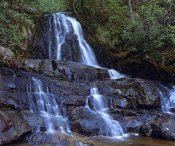 Tim Fitzharris - Waterfall, Laurel Creek, Great Smoky Mountains National Park, Tennessee