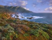 Tim Fitzharris - Cliffs and the Pacific Ocean, Garrapata State Beach, Big Sur, California
