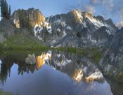 Tim Fitzharris - Reflections in Wasco Lake, Twenty Lakes Basin, Sierra Nevada, California