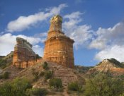 Tim Fitzharris - Rock formation called the Lighthouse, Palo Duro Canyon State Park, Texas