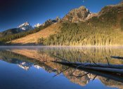 Tim Fitzharris - Teton Range reflecting in String Lake, Grand Teton National Park, Wyoming