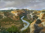Tim Fitzharris - Yampa River flowing through canyons, Dinosaur National Monument, Colorado