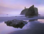 Tim Fitzharris - Ruby Beach with seastacks and boulders, Olympic National Park, Washington
