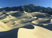 Tim Fitzharris - Sangre de Cristo Mountains at Great Sand Dunes National Monument, Colorado