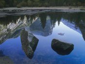 Tim Fitzharris - Mount Watkins reflected in, Mirror Lake, Yosemite National Park, California