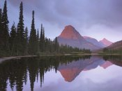 Tim Fitzharris - Mount Sinopah reflected in Two Medicine Lake, Glacier National Park, Montana