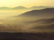 Tim Fitzharris - Appalachian Mountains from Doughton Park, Blue Ridge Parkway, North Carolina