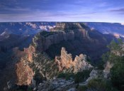 Tim Fitzharris - Wotans Throne from Cape Royal, North Rim, Grand Canyon National Park, Arizona
