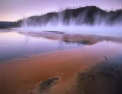 Tim Fitzharris - Steaming hot springs at Lower Geyser Basin, Yellowstone National Park, Wyoming