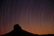 Tim Fitzharris - Startrails over Shiprock in the four corners region of the Southwest, New Mexico