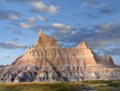 Tim Fitzharris - Sandstone striations and erosional features, Badlands National Park, South Dakota