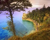 Tim Fitzharris - Castle Rock overlooking Lake Superior, Pictured Rocks National Lakeshore, Michigan