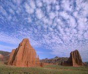 Tim Fitzharris - Sandstone formations, Temples of the Sun and Moon, Capitol Reef National Park, Utah