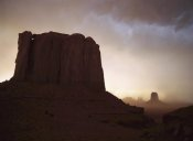 Tim Fitzharris - Sandstorm, Elephant Butte at north window, Monument Valley Navajo Tribal Park, Arizona