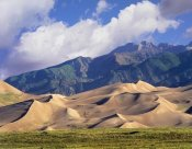 Tim Fitzharris - Sand dunes with Sangre de Cristo Mountains in the background, Great Sand Dunes National Park and Preserve, Colorado