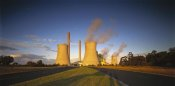 Jean-Marc La Roque - Loy Yang power station, coal burning facility, Latrobe Valley, Victoria, Australia