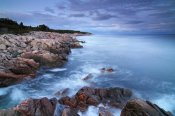 Scott Leslie - Coastal granite rocks, Cape Breton Highlands National Park, Gulf of St. Lawrence, Nova Scotia, Canada