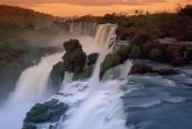 Thomas Marent - Cascades of the Iguacu Falls, the world's largest waterfalls, Iguacu National Park, Argentina