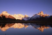 Colin Monteath - Cerro Torre and Mount Fitzroy