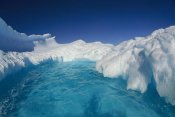 Colin Monteath - Sculpted iceberg, Terre Adelie Land, east Antarctica