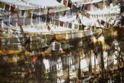 Colin Monteath - Prayer flags at dawn, Ganesh Top, Gangtok, Sikkim Himalaya, India